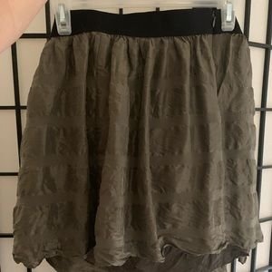 BR brand skirt. Great condition. Olive green.